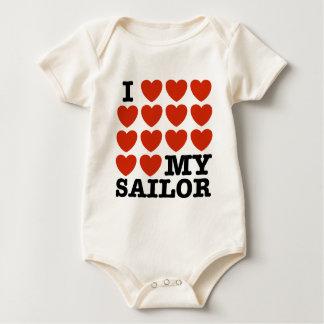 I Love My Sailor Bodysuit