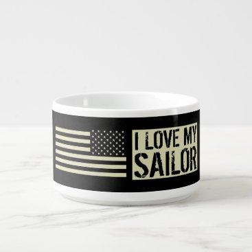 I Love My Sailor Bowl