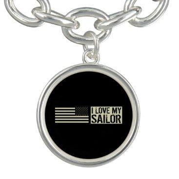 I Love My Sailor Bracelet