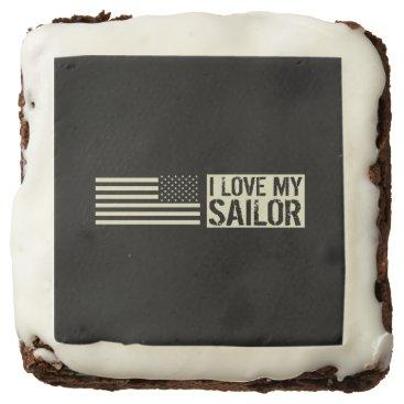 I Love My Sailor Brownie