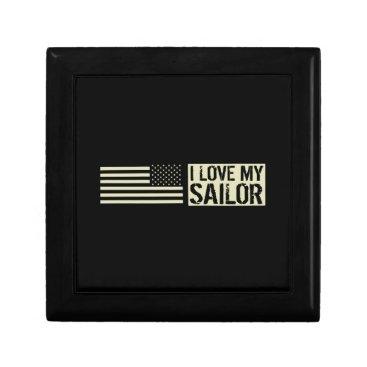 I Love My Sailor Gift Box