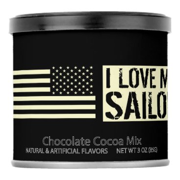 I Love My Sailor Hot Chocolate Drink Mix