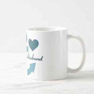 I Love My Sailor Husband Coffee Mug