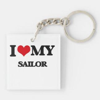 I love my Sailor Square Acrylic Key Chains