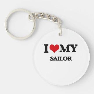 I love my Sailor Acrylic Keychain