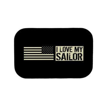 I Love My Sailor Lunch Box