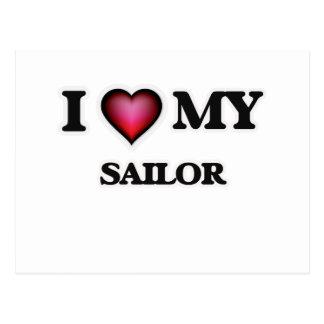 I love my Sailor Postcard