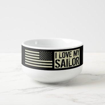 I Love My Sailor Soup Mug