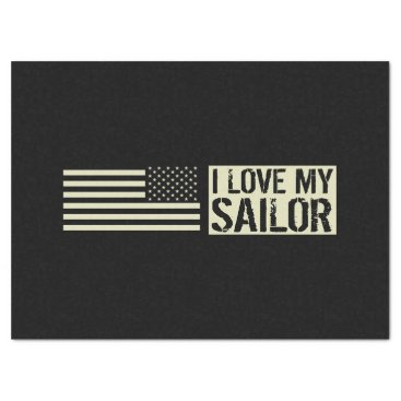 I Love My Sailor Tissue Paper