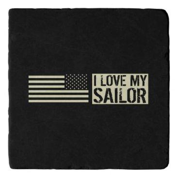 I Love My Sailor Trivet