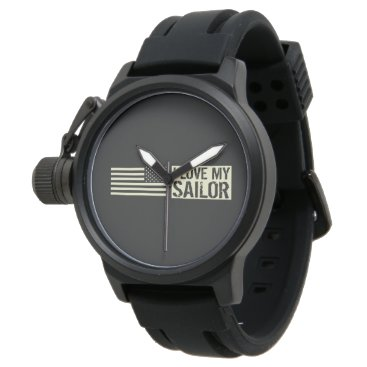 I Love My Sailor Watch