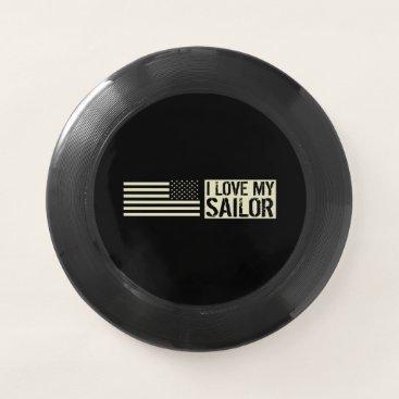 I Love My Sailor Wham-O Frisbee