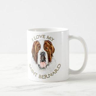I Love my Saint Bernard Coffee Mug