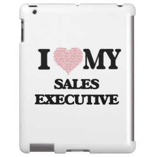 I love my Sales Executive (Heart Made from Words)