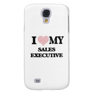 I love my Sales Executive (Heart Made from Words) Galaxy S4 Cover
