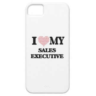 I love my Sales Executive (Heart Made from Words) iPhone 5 Case