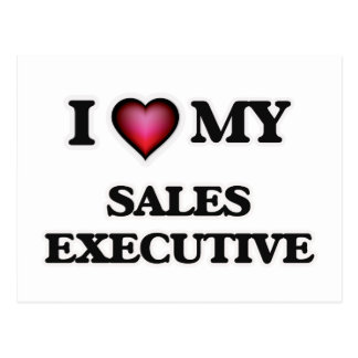 I love my Sales Executive Postcard