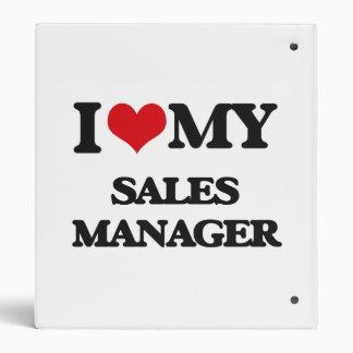 I love my Sales Manager Vinyl Binder