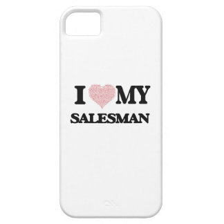 I love my Salesman (Heart Made from Words) iPhone 5 Covers