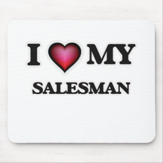 I love my Salesman Mouse Pad