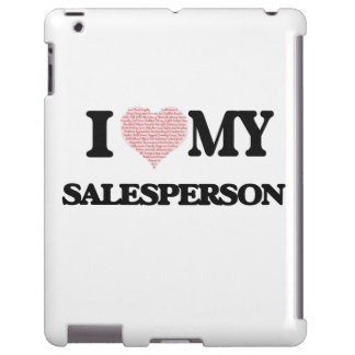 I love my Salesperson (Heart Made from Words)