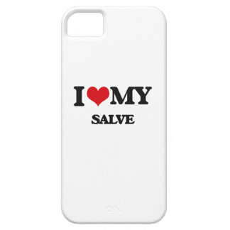 I Love My SALVE Cover For iPhone 5/5S