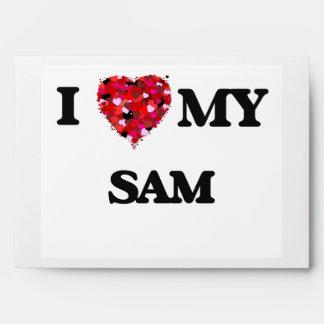 I love my Sam Envelope