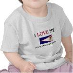I Love My Samoan Grandpa Tee Shirts