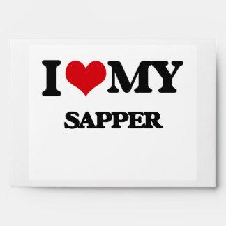 I love my Sapper Envelopes