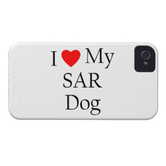 I Love My SAR Dog iPhone 4 Cases