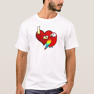 I Love my Scarlet Macaw T-Shirt