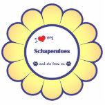 I Love My Schapendoes (Female Dog) Photo Cutout