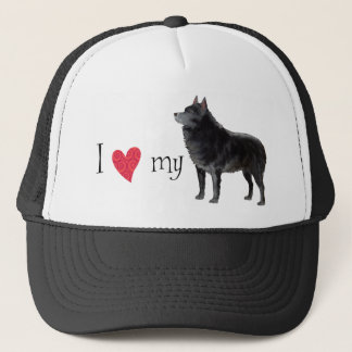 I Love my Schipperke Trucker Hat