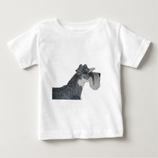 I Love My Schnauzer Baby T-Shirt
