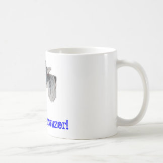 I Love My Schnauzer Coffee Mugs