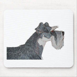 I Love My Schnauzer Mouse Pad