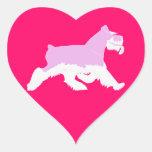 I love my Schnauzer -Sticker