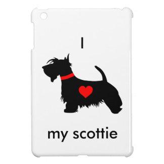 I love my scottie dog Hard shell iPad Mini Case