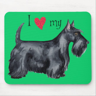 I Love my Scottie Mouse Pad