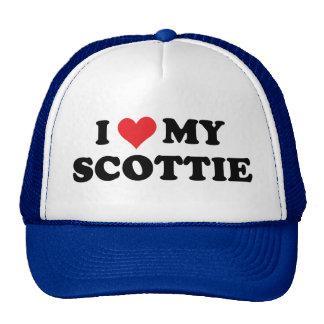 I Love My Scottie Trucker Hat