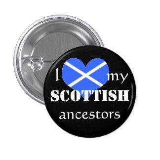 I love my Scottish ancestors Button