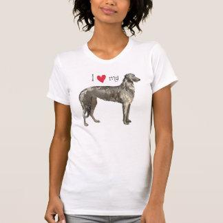 I Love my Scottish Deerhound Shirt