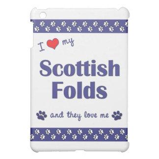 I Love My Scottish Folds (Multiple Cats) iPad Mini Cases