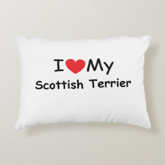 I love my Scottish Terrier Accent Pillow