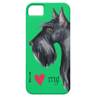 I Love my Scottish Terrier iPhone SE/5/5s Case