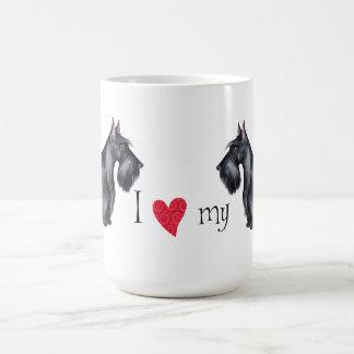 I Love my Scottish Terrier Coffee Mug