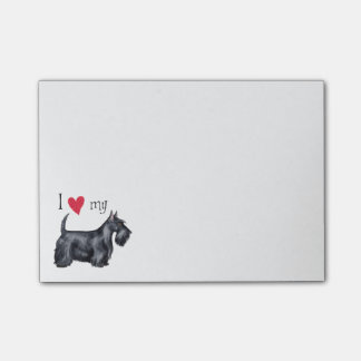 I Love my Scottish Terrier Post-it Notes