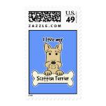 I Love My Scottish Terrier Postage
