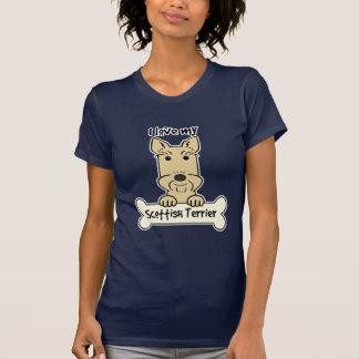 I Love My Scottish Terrier T Shirt