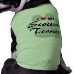 I Love My Scottish Terrier T-Shirt